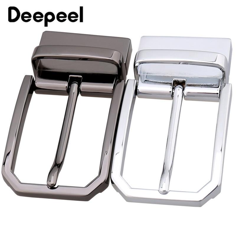 Deepeel High Quality Metal Belt Buckle Men Belt Head Zinc Alloy Pin Buckle For 33-34MM Belt Jeans Accessories DIY Leather Crafts