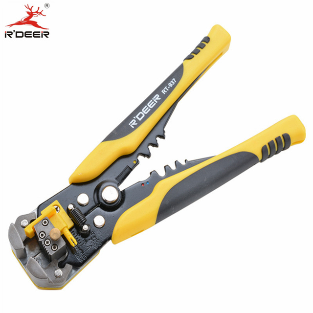 205mm Crimping Tool  Auto Crimping Pliers Cutting And Pressing Wire Stripper Self Adjusting Multi-function Electrician Tools