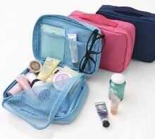 10pcs/lot  method has Monopoly multifunctional travel receive packets waterproof toiletry bags cosmetic bag