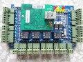 100% original Novo de quatro portas 4 Leitores Profissional de controle de acesso de Rede TCP placa verde para porta sistema de controle de acesso
