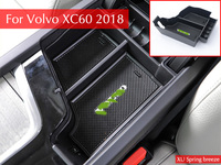 Car Interior Decoration Console Armrest Storage Box Container Car Styling For Volvo XC60 XC90 S90 2017
