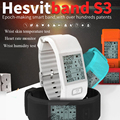 2016 newest hesvit s3 heart rate bluetooth smartband heartbeat  smart bracelet  Wrist Humidity Temperature activity monitor