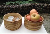 Stary korzeń bambusa bambusa herbata mycia herbaty morze rzeźba ceremonii parzenia herbaty do przechowywania miska na owoce miska talerz na przekąski