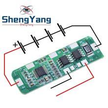 ShengYang – carte de Protection pour batterie Lithium Li-ion 4s, 4 pièces, 4 a-5 a 18650, BMS PCB 4.25-4.35V à 2.3-3.0V