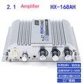 Sounderlink 40Wx2 TDA7057 Mini Amplificadores de Áudio Estéreo de Alta Fidelidade Digital + 60 W 2.1 canais ceia baixo Amplificador de Carro Para Casa
