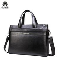 New Fashion Cowhide Male Commercial Briefcase Real Leather Vintage Men S Messenger Bag Casual Natural Cowskin