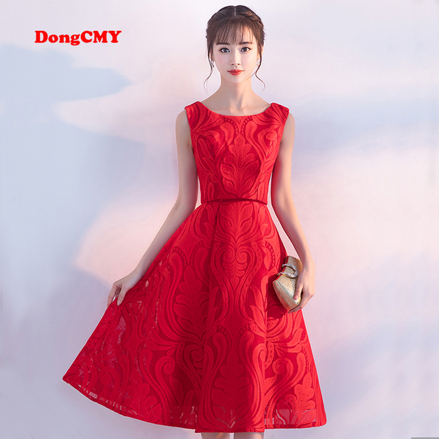 DongCMY 2018 new spring/summer fashion style prom dresses medium ...
