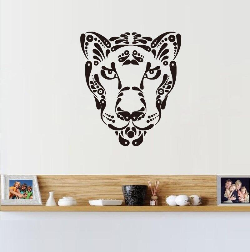 Fashion Leopard Vinyl Wall Sticker Home Decor For Kids Room Kitchen Sticker  Bathroom Decals(China