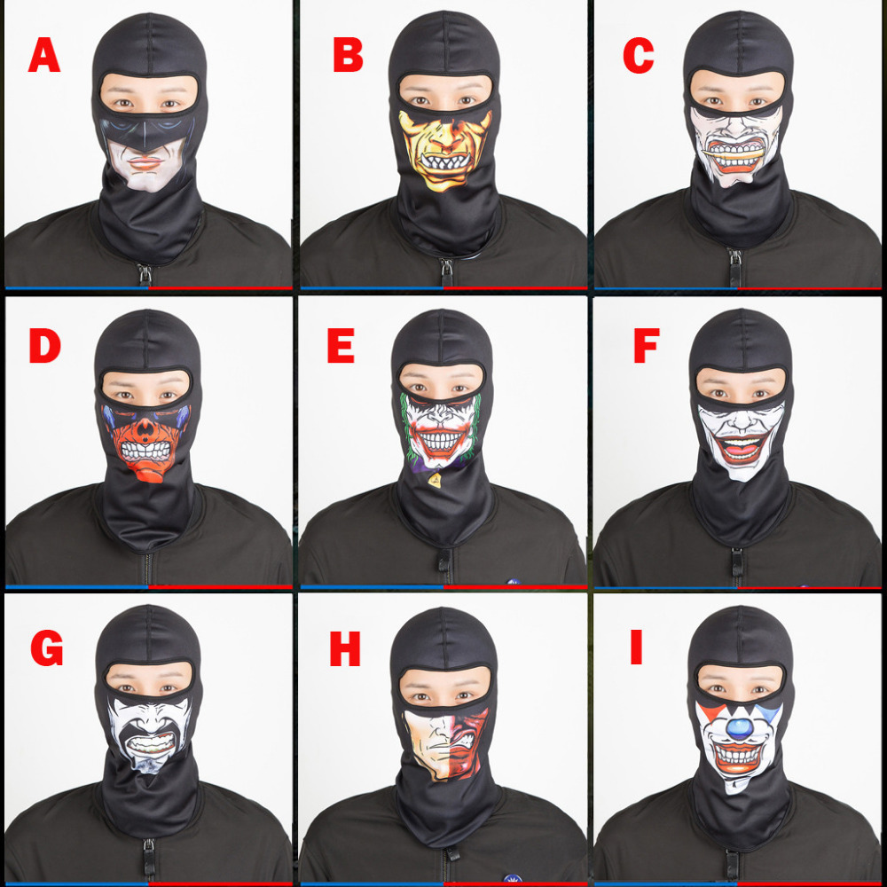 2019 fashion man and woman Bicycle outdoor sports masks out riding sports headscarf mountaineering skiing warm mask 40M20 (11)