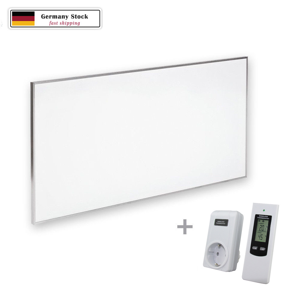 Radiant Infrared Heater 600W Wall & Ceiling Thermostat IncludedRadiant Infrared Heater 600W Wall & Ceiling Thermostat Included