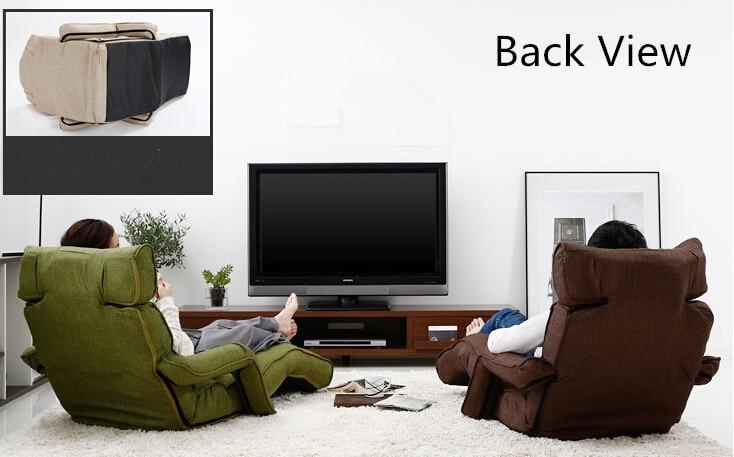 Aliexpress Boden Faltbare Chaiselongue 6 Farbe Verstellbare Liege Wohnzimmer Mbel Japanischen Stil Daybed Schlafsofa Sessel Von Verlsslichen Sofa