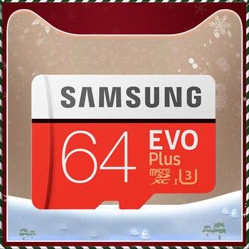 سامسونج EVO + مايكرو SD 32G SDHC 80MB / ثانية الصف Class10 بطاقة الذاكرة C10 UHS-I TF / SD بطاقات ترانس فلاش SDXC 64GB 128GB للشحن 1