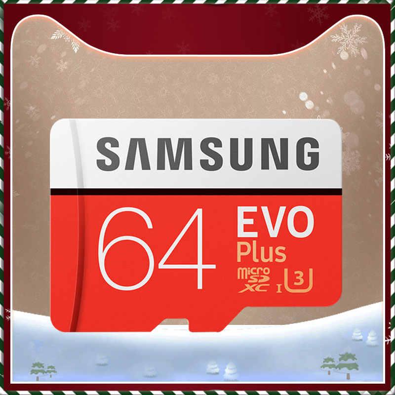 SAMSUNG EVO + Micro SD 32G SDHC 80 MB/S grado Class10 tarjeta de memoria C10 UHS-I TF/tarjetas SD Trans Flash SDXC de 64GB 128GB para envío