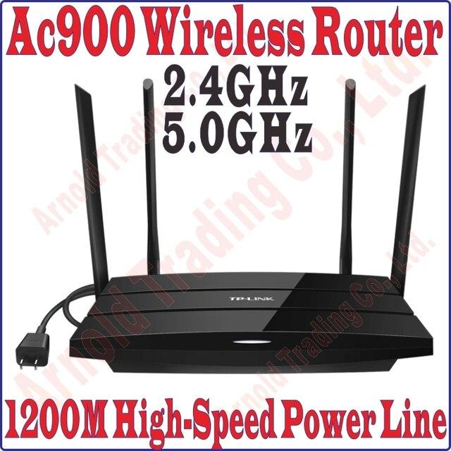 US $133 17 5% OFF|TPLink 2 4G 450M 5GHz 433M Main Wireless Router 1200Mbps  Power Line Adapter Extender WiFi Hotspot Powerline, NO Wirless EXTENDER-in