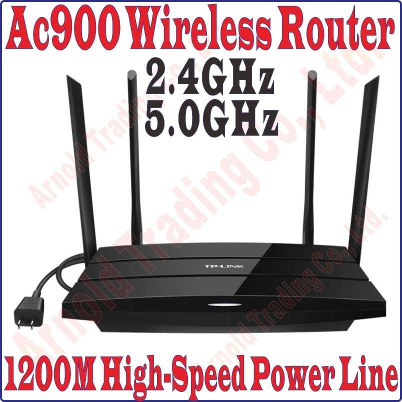 TPLink 2 4G 450M 5GHz 433M Main Wireless Router 1200Mbps Power Line Adapter  Extender WiFi Hotspot Powerline, NO Wirless EXTENDER