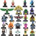 Одной Продажи Мистерио Marvel Super Heroes Мстители Бэтмен Робин Рисунках Строительные Блоки Кирпичи Игрушки для Детей