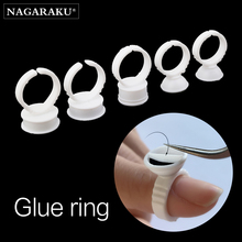 NAGARAKU Maquiagem ресницы для наращивания Клей Кольца для макияжа 100 шт. посылка клей держатель набор инструментов Maquillaje