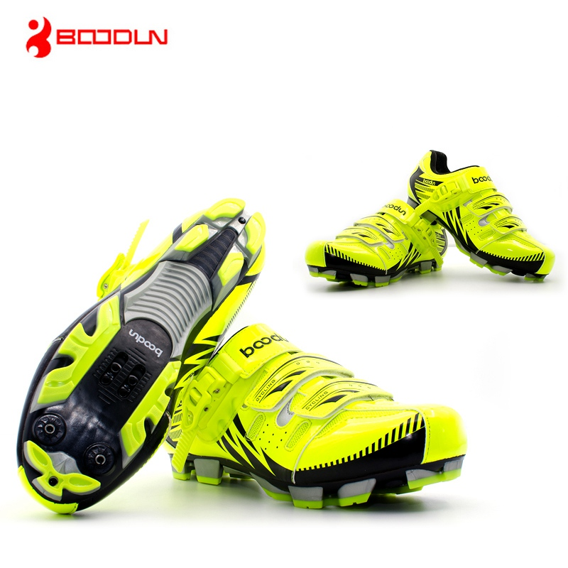 Boodun Professional Cycling Shoes Breathable Road / MTB Bike Shoes Men Women Mountain Bicycle Self-Locking Athletic Sneakers motachie road cycling shoes mtb racing mountain bike shoes men road bike athletic bicycle speakers self locking professional