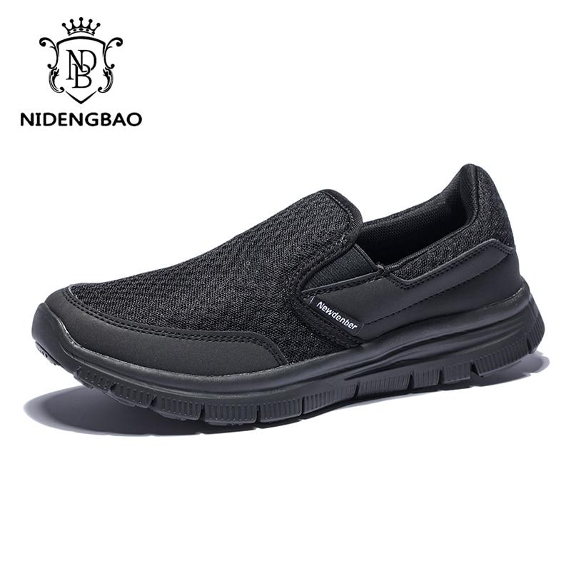 Zapatos casuales de marca de lujo para hombre Zapatillas transpirables ligeras,