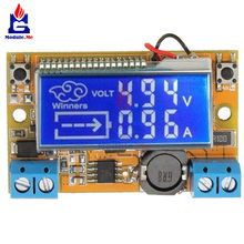 DC-DC 3A STN Digital DisPlay LCD Step Down Power Supply Module Adjustable 5-23V To 0-16.5V Current Voltage Step Down Buck Board(China)