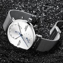 2019 NEW Quartz Watch Brand Luxury Men Watches Fashion Dress Waterproof Male Wristwatch Chronograph Men Clock Relogio Masculino цена
