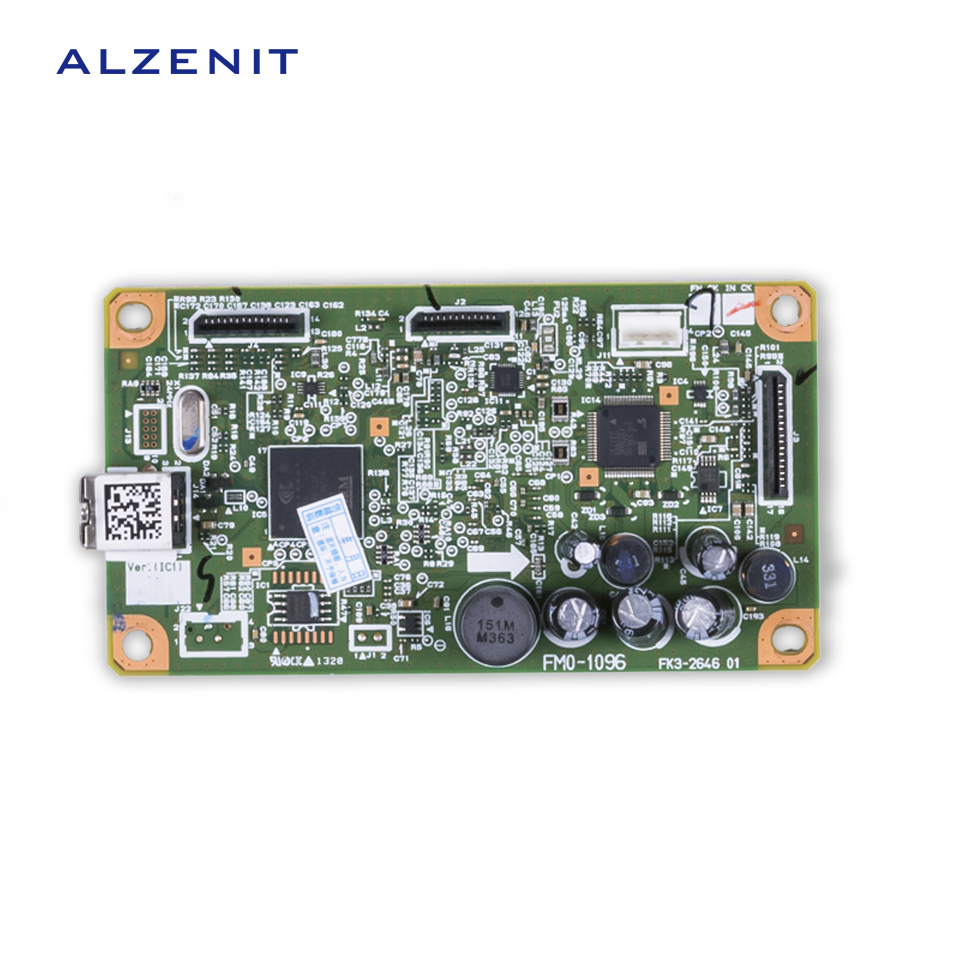ALZENIT For Canon 3010 MF3010 MF 3010 Original Used Formatter Board Printer Parts On Sale brand new inkjet printer spare parts konica 512 head board carriage board for sale