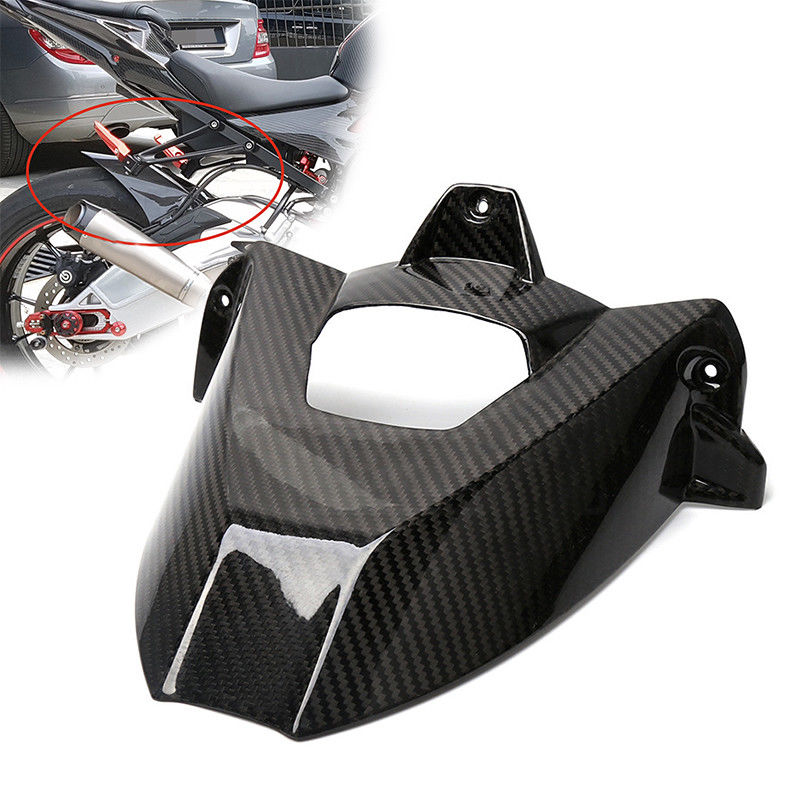 For BMW S1000RR 2009 2010 2011 2012 2013 2014 2015 2016 2017 2018 Motorcycle Rear Fender Mudguard Fender Hugger Carbon Fiber