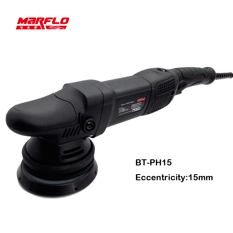 Marflo Car Polisher Auto Polishing Machine Eccentricity 15MM /21mm Dual Action Polishing Waxing Tools