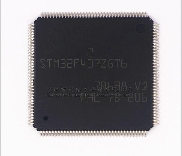 10 pcs/lot STM32F407ZGT6 STM32F407 LQFP-14410 pcs/lot STM32F407ZGT6 STM32F407 LQFP-144