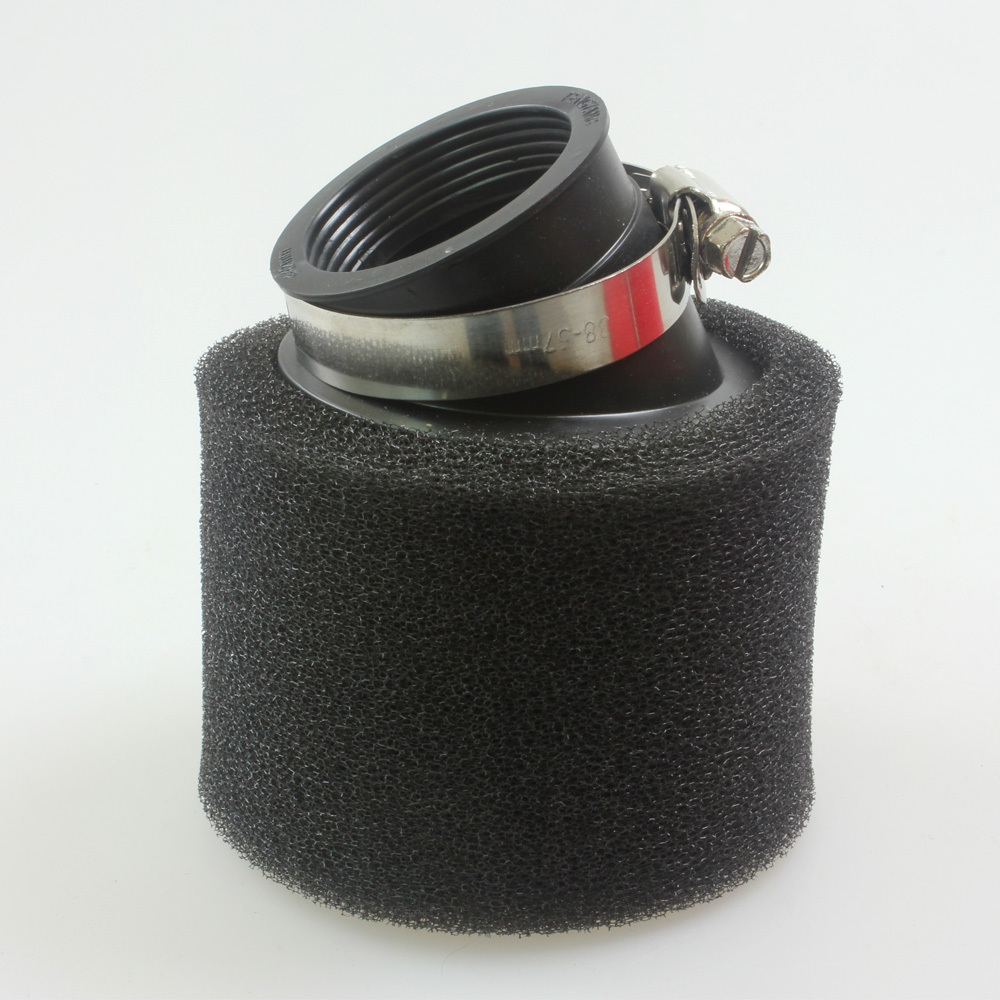 Foam Air Cleaner : Black air filter mm foam cleaner moped scooter cc
