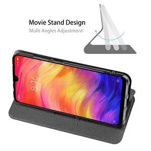 Image 3 - MOFi dla Redmi Note 8 pokrywy skrzynka dla Redmi Note 8 Pro etui na xiaomi Note8 8 Pro Xiomi obudowa TPU PU skórzany książkowy stojak Folio
