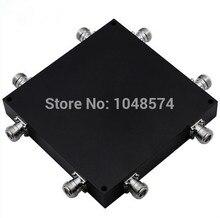 Alta qualidade 698-2700 MHz 4*4 matrix 4 em 4 híbrido acoplador combinador N conector fêmea
