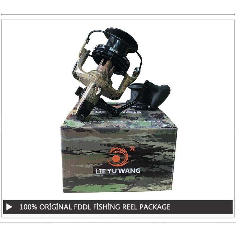 Lieyuwang 5000-10000 13BB 4.1: 1 Balıqçılıq Reel Feeder Metal - Balıqçılıq - Fotoqrafiya 6