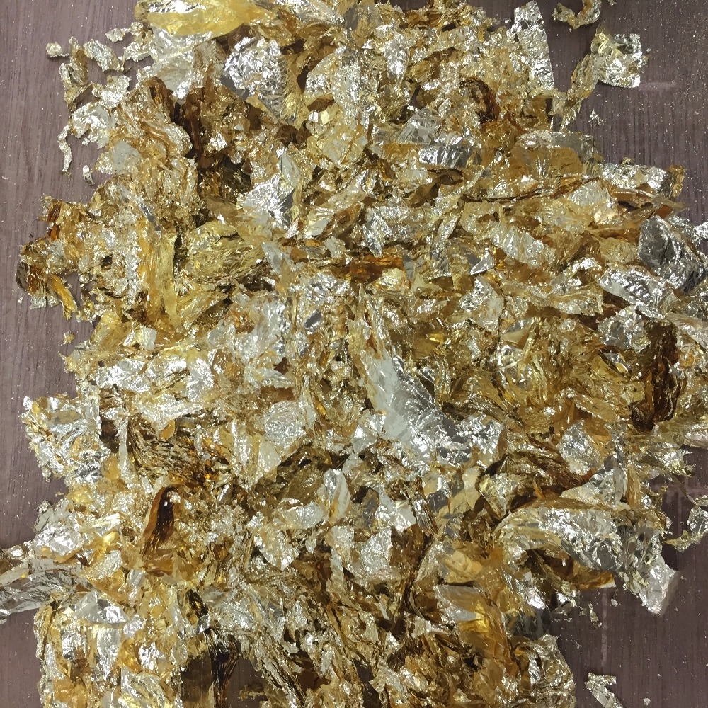 10 Grams of....Premium Quality Copper Leaf Flakes ..../& Lowest price online !!