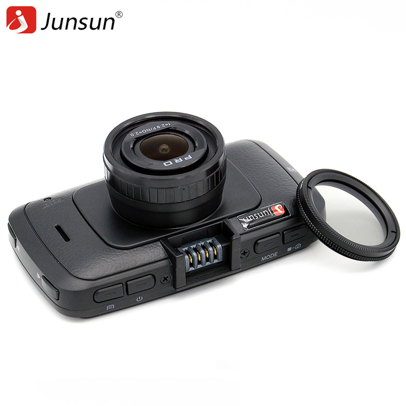 Junsun A790 Car DVR Camera Ambarella A7LA70 with Speedcam FHD 1080p 60Fps Video Recorder Registrar Night