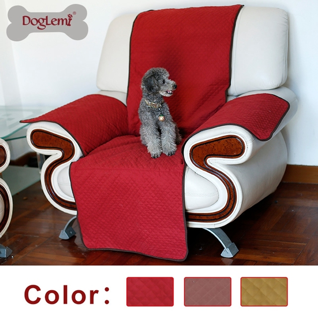 Doglemi Dog Sofa Cover Protector Pet Covers For House Chair Soft Mat 3 Colors Dropshipping