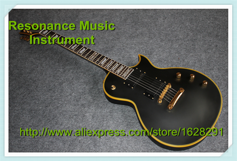 New Arrival High Quality Matte Black Top Guitar Body ESP LTD Eclips Guitars Electric From China Factory new arrival electric body for stra tocaster in flash black