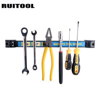 RUITOOL Magnetic Tool Holder 345mm 500mmTool Shelf Metal Magnet Storage Tool Great For Garage Workshops Kitchen