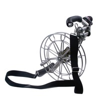 Professional 28cm Brakes Control Kite Wheel Strong 5 Roller Kite String Winder For Flying Parafoil Kite Adult Use