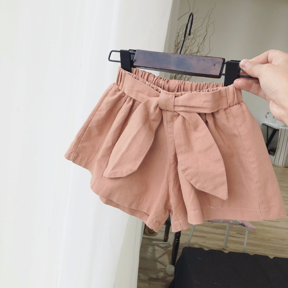 Celveroso 2 Colors Baby girls shorts cotton children shorts kids shorts for girls clothes toddler girl clothing summer bow short baby girls shorts jeans hot design summer cotton children s shorts kids denim shorts for girls clothes 2 16 years girl clothing