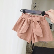Celveroso 2 Colors Baby girls shorts cotton children shorts kids shorts for girls clothes toddler girl clothing summer bow short