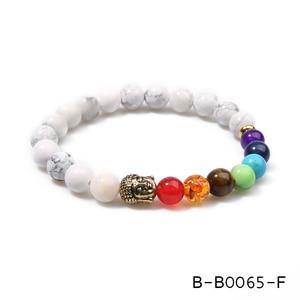 Image 4 - Oaiite 7 Chakra Gouden Boeddha Afvallen Armbanden Voor Vrouwen Mannen Natuursteen Kralen Sieraden Chakra Armband Yoga Gebed Therapie