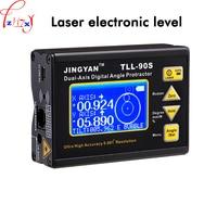 Цифровой дисплей двухосевой Инклинометр TLL 90S мини профессиональных высокоточная лазерная электронный измеритель уровня 1 шт. 37 В