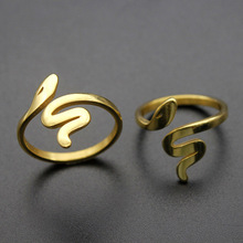 цена на 2019 New Fashionable Handmade Knot Design Adjustable Rings Metalic Gold-color Open Fashionable Jewelry Cute For Women Girls