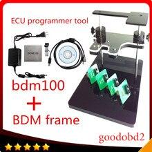 BDM100 ЭКЮ Программист Инструмент + bdm кадр с полной адаптер поддержка больше Подходит Для FGTECH ecu BDM100 ЭКЮ Chip Tuning инструменты
