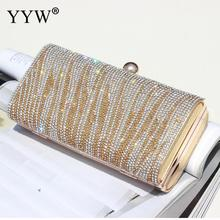 Yyw Evening Gillter Clutch Bag Women Party Wedding New Mini Handbag Sequin Crossbody Bags Shoulder Bag Rhinestone Clutches Purse sequin everning clutch bag for party acrylics flap bag with metal china women clutch bling eye crossbody bag sequin bag
