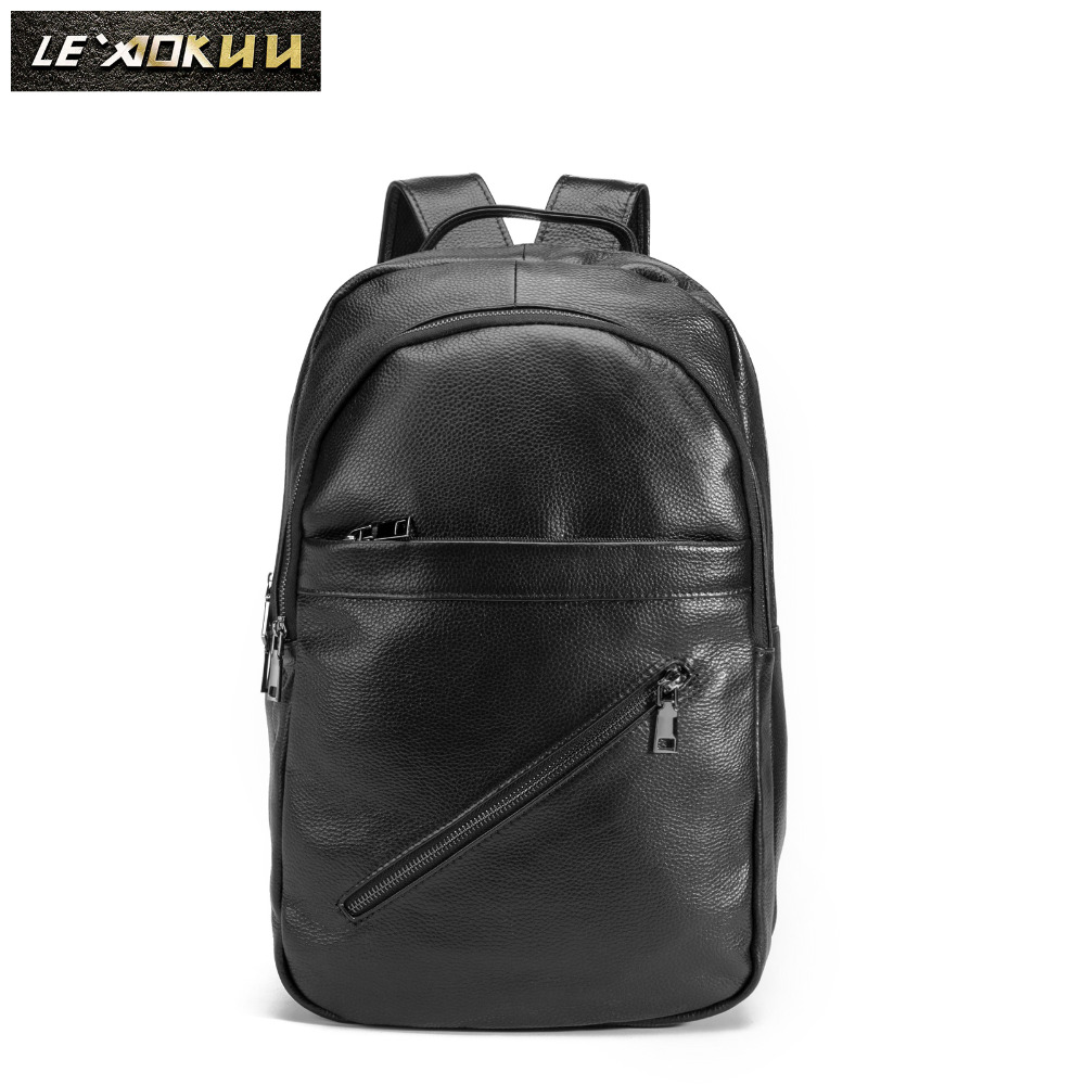 Design Male Original Leather Casual Fashion Large Capacity Travel School College 17 Laptop Student Bag Backpack Daypack BB332Design Male Original Leather Casual Fashion Large Capacity Travel School College 17 Laptop Student Bag Backpack Daypack BB332