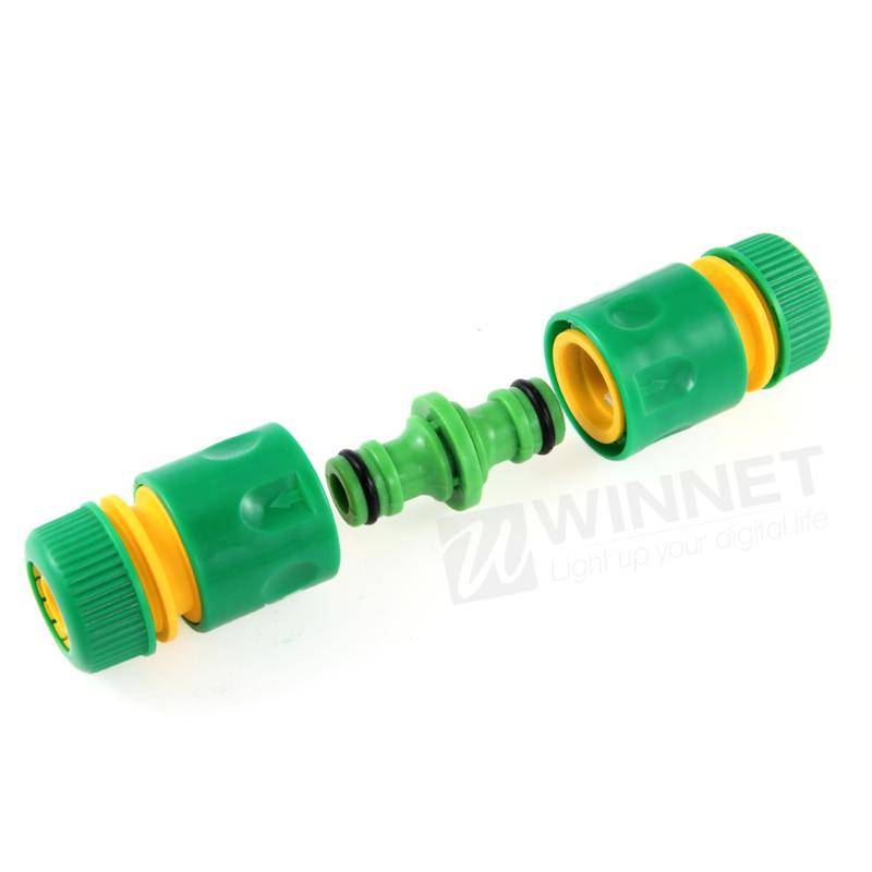 Garden Abs Tap Hose Connector Adapter Pipe Fit 1 2 Quick Release Female Male In Garden Water