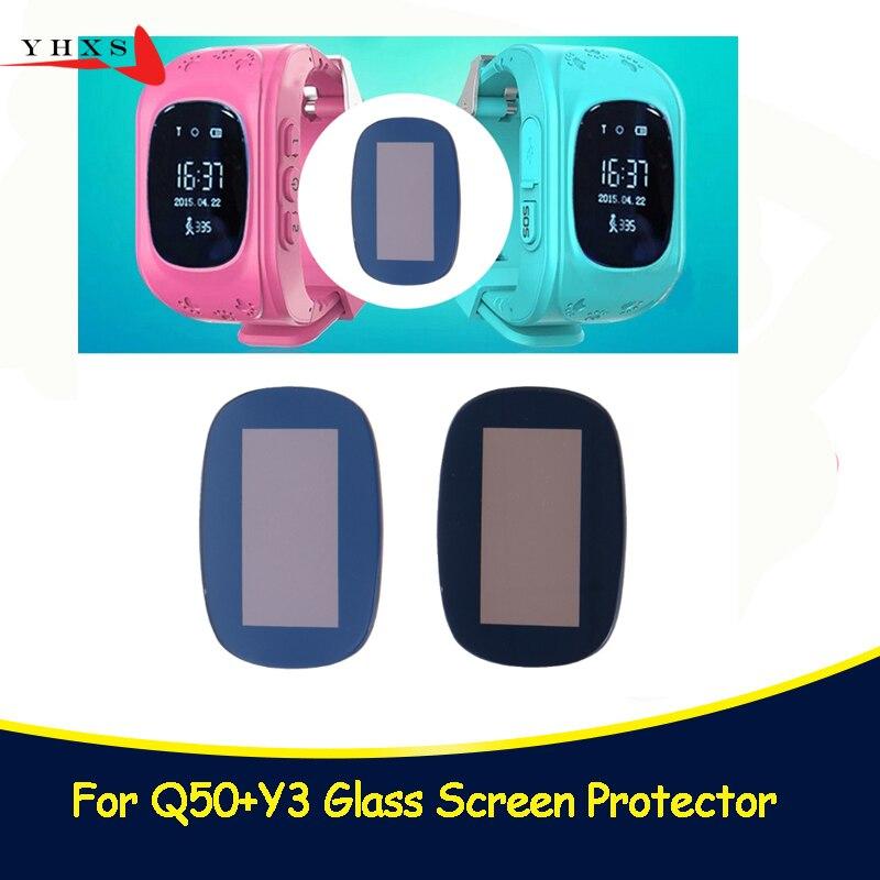 Dello Schermo di vetro per Q50 Capretti Del Bambino Del Bambino anziano Astuto Della Vigilanza Q50 T58 Y3 Smartwatch Protezione Dello Schermo di Vetro