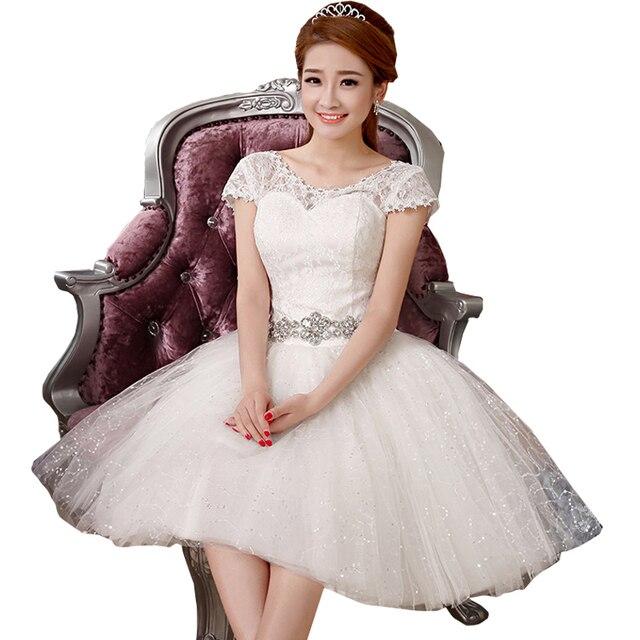 Lace New 2017 Short Cheap Goods Wedding Dresses Under 50 China Short